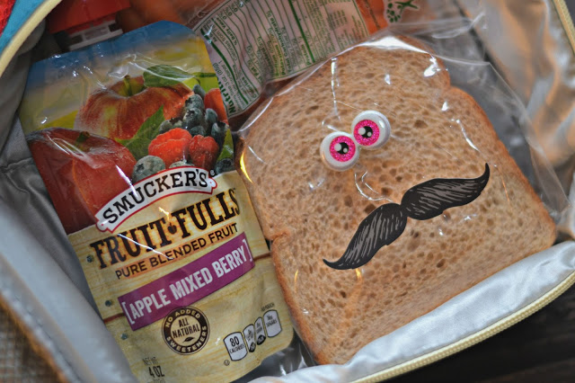 """""""Snackation"""" Silly Face Sandwiches, silly face sandwich bags, googly eye sandwiches, creative lunches for kids."""