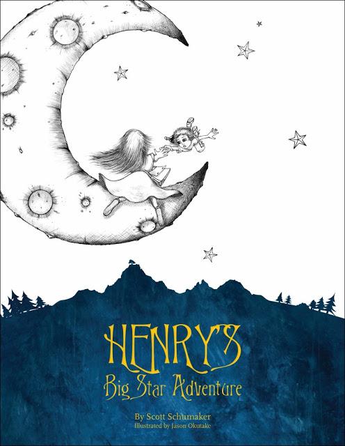 Henry's Big Star Adventure - Book Review and Giveaway, Henry's Big Star Adventure, author Scott Schumaker, Scott Schumaker, kids books