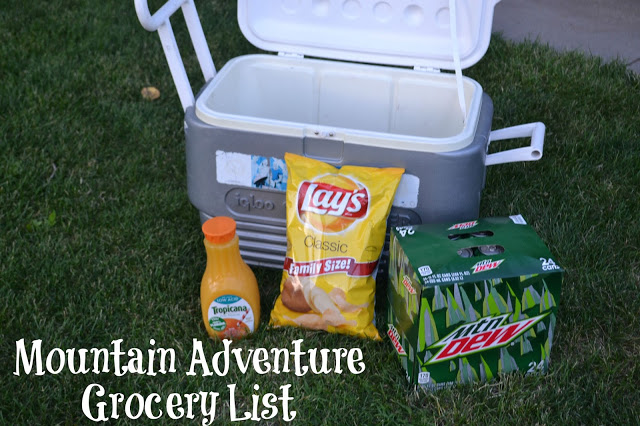 Safeway a huge anniversary sale, planning a meal plan for camping, tips for camping, camping meal plans, tips for mountain adventures, Mountain adventure grocery list, safeway