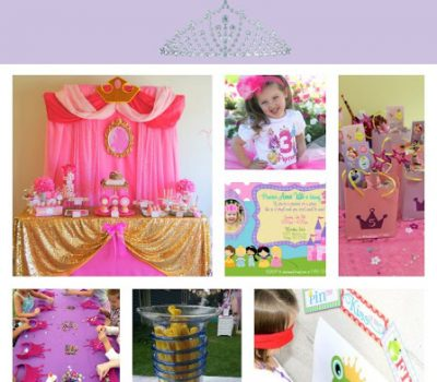 Disney Princess Party – All of the THEM!