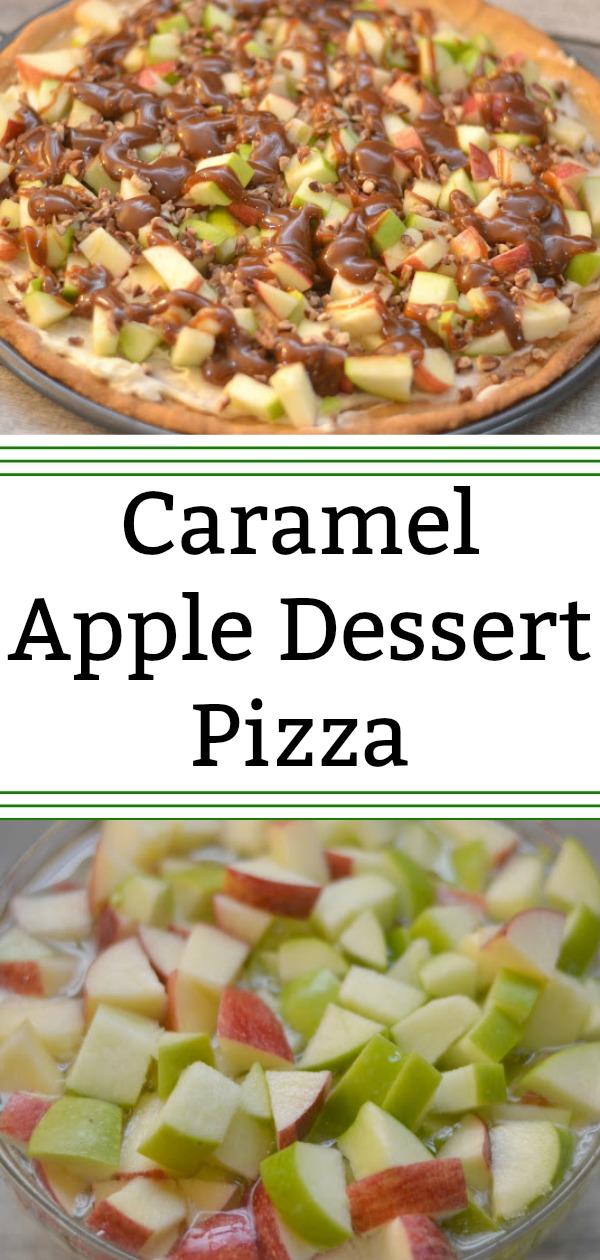 Caramel Apple Dessert Pizza #Recipe, fruit pizza recipe. fruit pizza, Caramel Apple Dessert Pizza, apple desserts, pot luck recipes, fall desserts, easy desserts, caramel desserts, sugar cookie recipe, sugar cookies, sugar cookie pizza crust