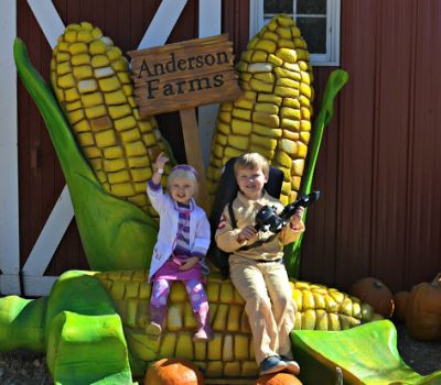 Anderson Farms Pumpkin Patch and Halloween 2015