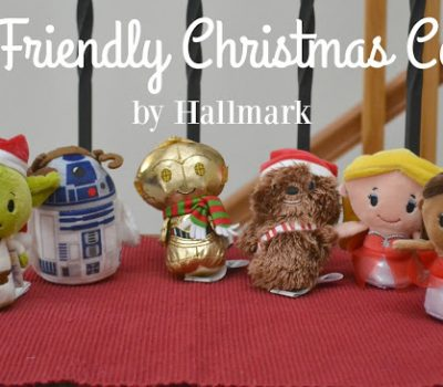 Kid Friendly Christmas Corner from #Hallmark