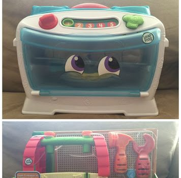 LeapFrog Number Lovin' Oven & Scout's Build and Discover Tool Set
