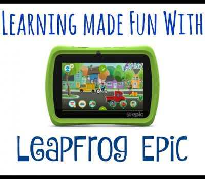 Learning Made Fun With LeapFrog Epic