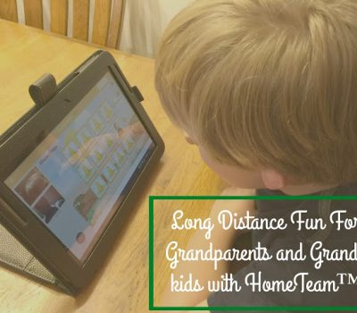 Long Distance Fun For Grandparents and Grand-kids with HomeTeam™