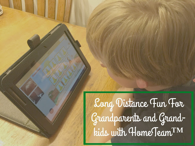 Long Distance Fun For Grandparents and Grand-kids with HomeTeam™, HomeTeam App information, HomeTeam App