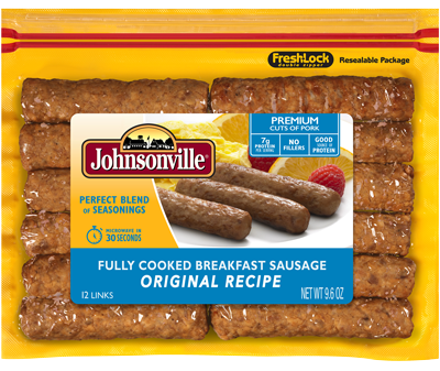 Breakfast is Served with Johnsonville® and a Banana Split Smoothie