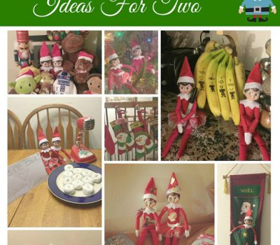 Elf On The Shelf – Ideas For Two!