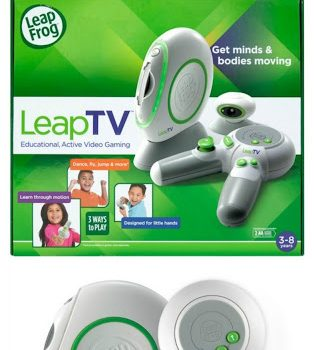 Learning and Moving with LeapTV from LeapFrog