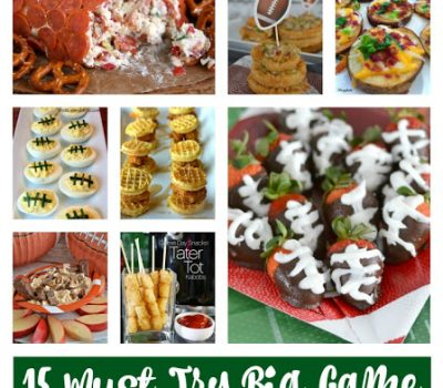 15 Must Try Big Game Recipes