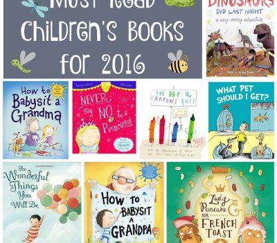 Must Read Children's Books for 2016