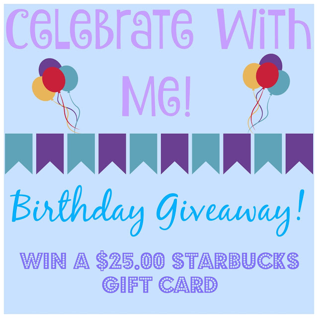 Birthday Giveaway 25 Starbucks Gift Card Building Our Story