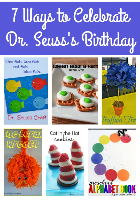 7 Ways to Celebrate Dr. Seuss's Birthday, Ways to Celebrate Dr. Seuss's Birthday, Dr. Seuss's birthday, Read Across America day, Dr. Seuss crafts, Dr. Seuss snacks, Dr. Seuss decorations, fun Dr. Seuss ideas,