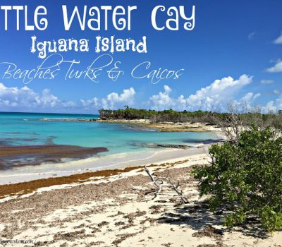 Beautiful Boat Ride to Little Water Cay – Turks & Caicos