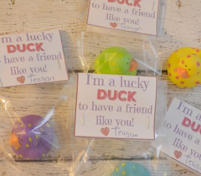 I'm A Lucky DUCK To Have You As My Friend – FREE Valentine's Day Printable