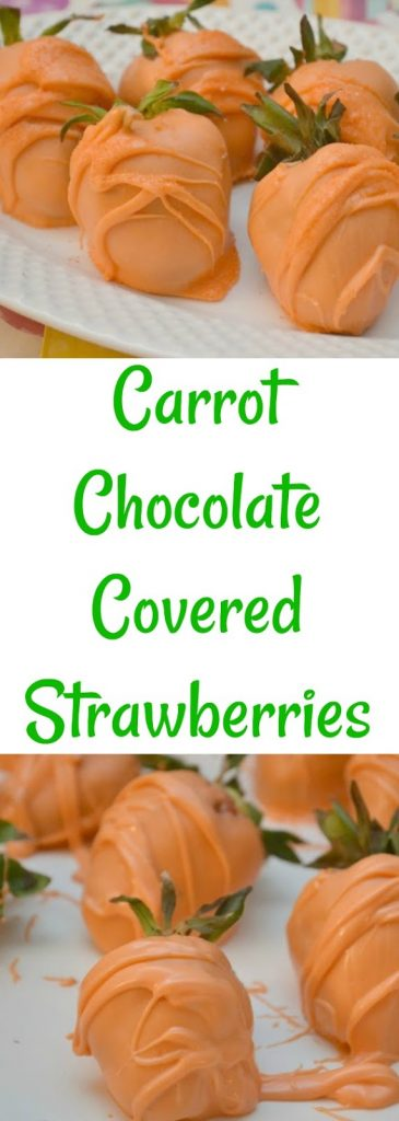Easter Carrot Chocolate Covered Strawberries, Carrot Chocolate Covered Strawberries, Easter Carrot Chocolate Covered Strawberries for dessert, Easter desserts, Easter treats, creative Easter desserts, easy Easter treats, Easy Easter desserts