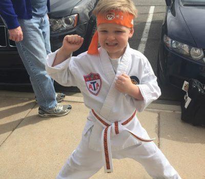 Jude Achieved Another New Taekwondo Belt