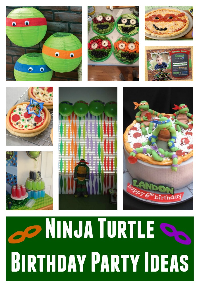 Ninja Turtle Birthday Party Ideas Building Our Story