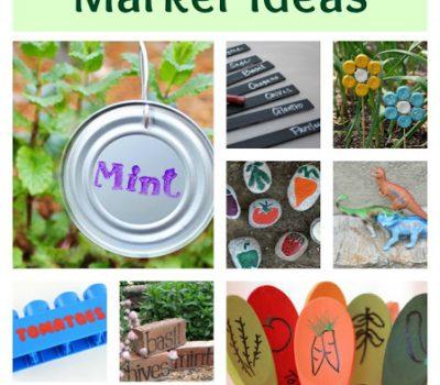 Creative Garden Marker Ideas
