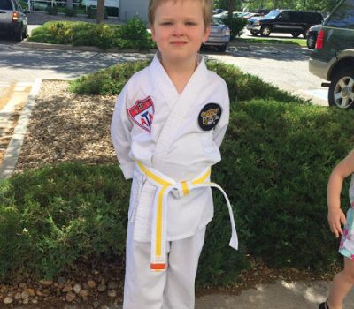 Yellow Belt In The House!