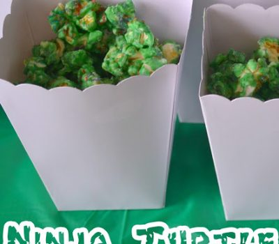 Ninja Turtle Popcorn Recipe