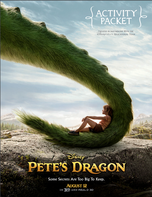 Pete's Dragon, Pete's Dragon movie, Free Tickets to Pete's Dragon, Pete's Dragon Video Clips, pete's dragon disney, new Pete's Dragon movie, Pete's dragon activity pages