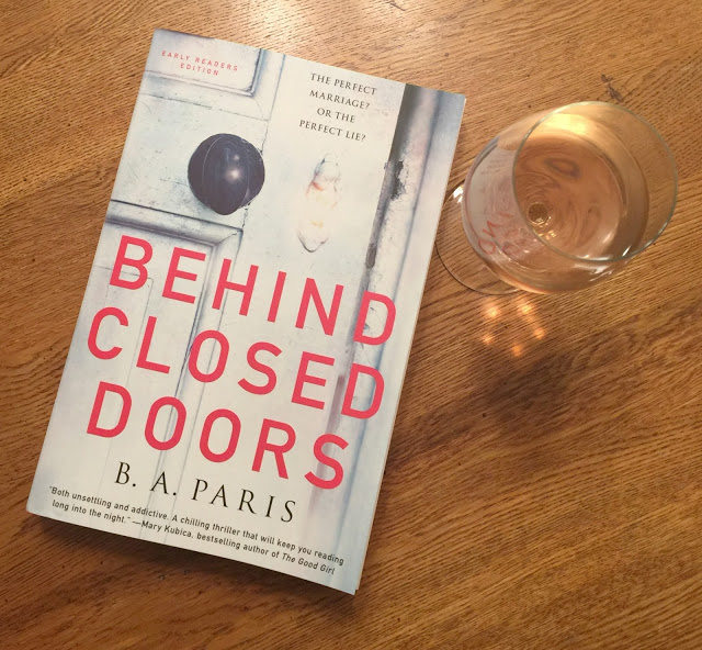 Behind Closed Doors - Book Review, Behind Closed Doors, summer books,   Behind Closed Doors by B.A. Paris, B.A. Paris author, B.A. Paris