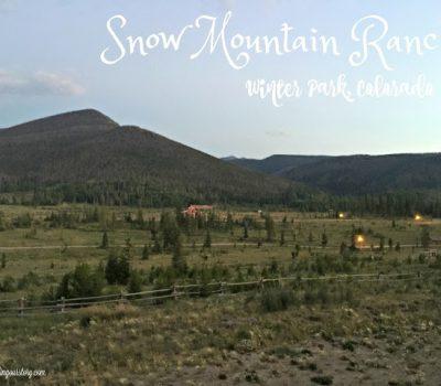 Family Vacation:  Snow Mountain Ranch Winter Park Colorado