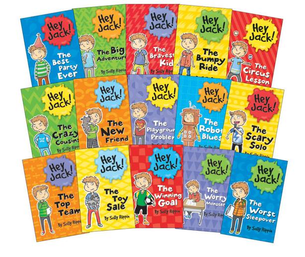 Hey Jack! by Sally Rippin, Hey Jack books, Usborne books, Billie B. Brown books, Sally Rippin, new reader chapter books, Hey Jack series, Hey Jack chapter books