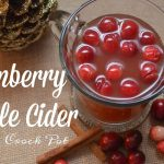 Crock Pot Cranberry Apple Cider