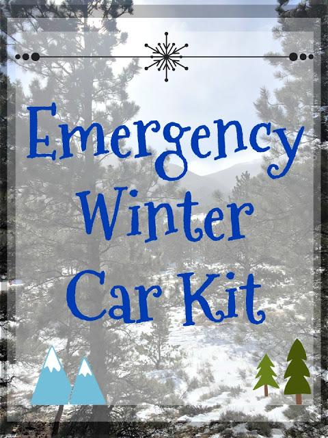 Emergency Winter Car Kit, emergency car kit, DIY car kit, winter car kit ideas, build your own emergency car kit, build your own winter car kit, winter car tips, winter driving tips, safe winter travel, holiday travel tips
