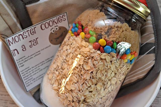 Monster Cookies in a Jar