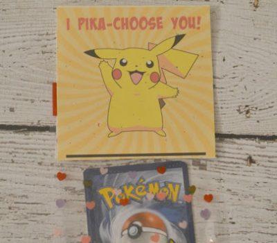"""I Pika-Choose You!""  Pokemon Valentine Printable"
