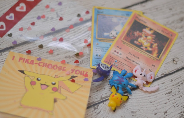 """I Pika-Choose You!""  Pokemon Valentine Printable, Pokemon valentines, DIY Pokemon valentines, Pokemon printable valentines, I Pika-Choose You printable, Pokemon, Pikachu valentines, Pokemon figures, Valentines for boys, Non candy valentine ideas, Non candy valentines for kids"