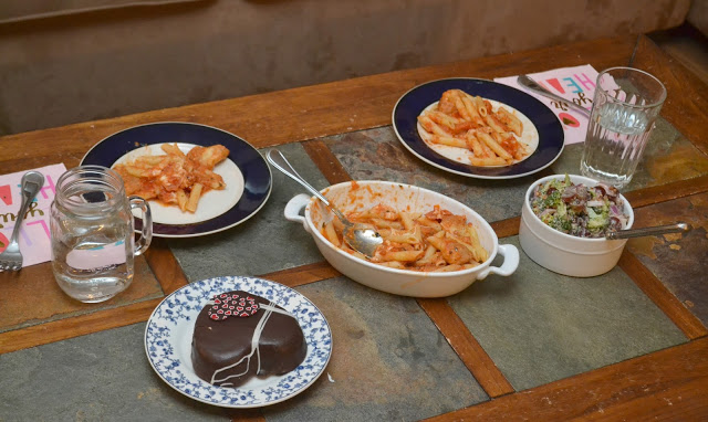 Mommy and son date night, Bertolli Frozen meals, Bertolli meals, Easy dinner ideas for families, date nights, Meals for 2, Mommy and Son Date night In, Grape and Broccoli Salad, Broccoli and Grape Salad, Grape and Broccoli Salad recipe, Broccoli and Grape Salad recipe,