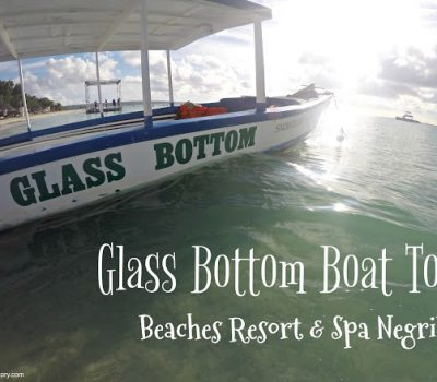 Glass Bottom Boat – Beaches Resort & Spa Negril