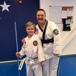 Moving on Up!  Jude's Taekwondo Update
