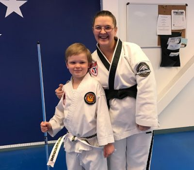 Moving on Up!  Jude's Taekwondo Update