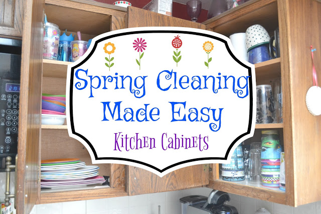 Kitchen Cabinets – Spring Cleaning Made Easy
