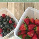 How To Keep Fresh Produce Fresh Longer?