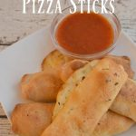 Cheesy Pepperoni Pizza Sticks