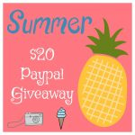 Jump Into Summer $20 Paypal #Giveaway