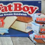 Chocolate Covered Cherry FatBoy Ice Cream Sandwiches