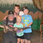 Visiting the Colorado Gator Farm