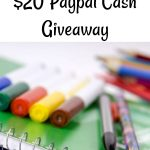Back to School Celebration - $20 Paypal Cash #GIVEAWAY