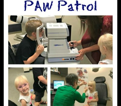 Back-to-School with Visionworks and PAW Patrol