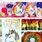 Planning A Rainbow Unicorn Birthday Party