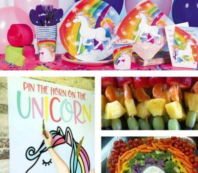 Planning A Rainbow Unicorn Birthday Party