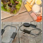 No More Soggy Salads - Rubbermaid BRILLIANCE Salad & Snack Set